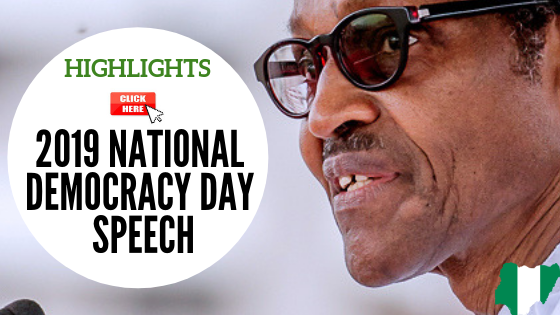 Highlights of 2019 National Democracy Day Speech